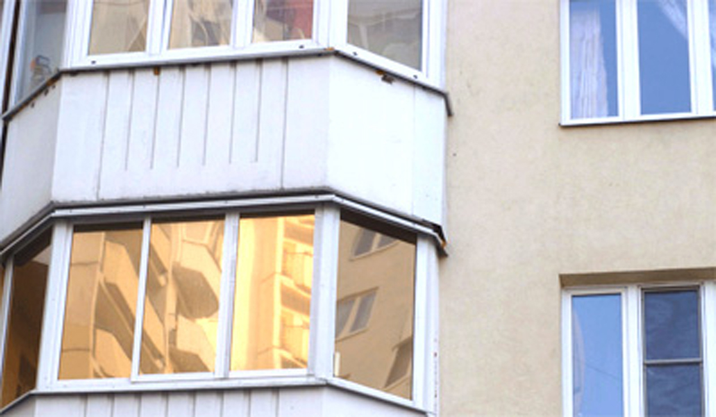 Тонировка балкона в москве.